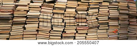 Background Of Many Books Of Many Sizes  For Sale