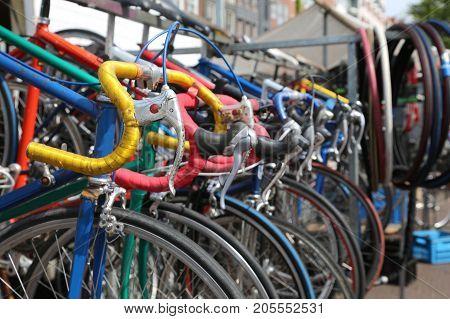 Used Vintage Racing Bikes For Sale In The Flea Market Alfresco