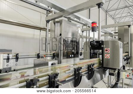 Factory For Bottling Beverages In Cans