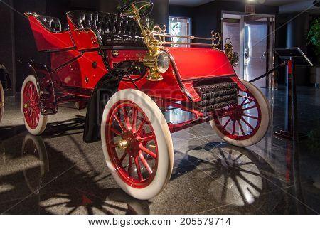 1903 Ford Model A Rear Entry Tonneau Presented In Blackhawk Museum. Ca. Usa