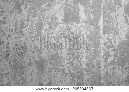 Grey grunge concrete wall background, cement construction texture