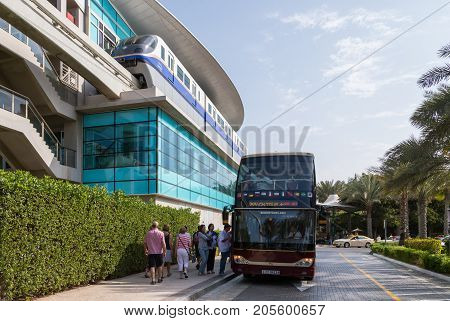 Dubai Bus Travel City