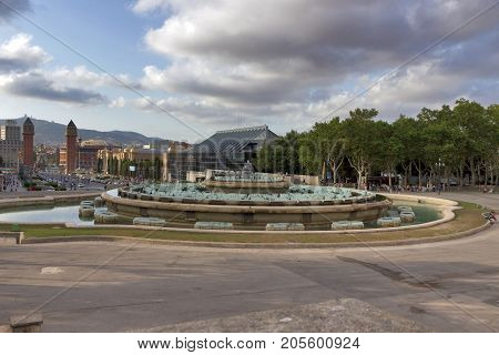 Placa De Espanya Barcelona