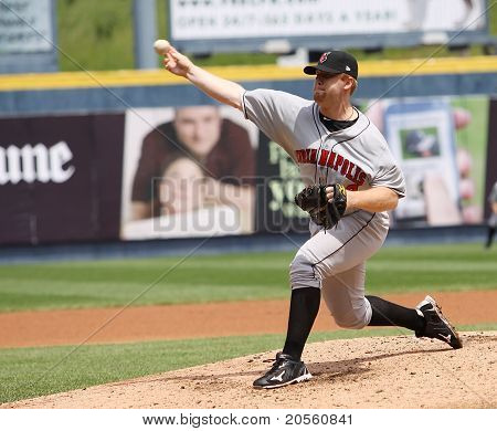 Indianapolis Indians pitcher Blaine Boyer