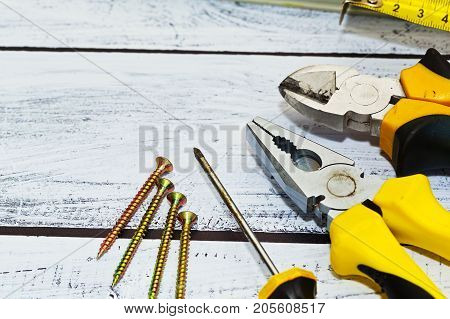 Work Hand Tools, Close-up Capture