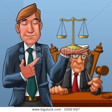Lawyer And Judge