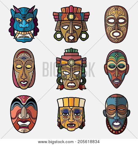 African Tribal Mask  crayolacom