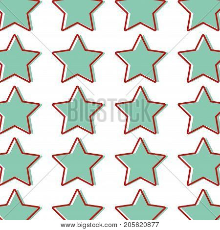 rating star symbol and element status background vector illustration