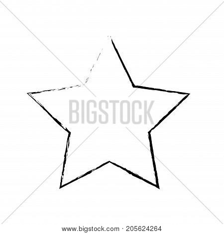 figure rating star symbol and element status vector illustration