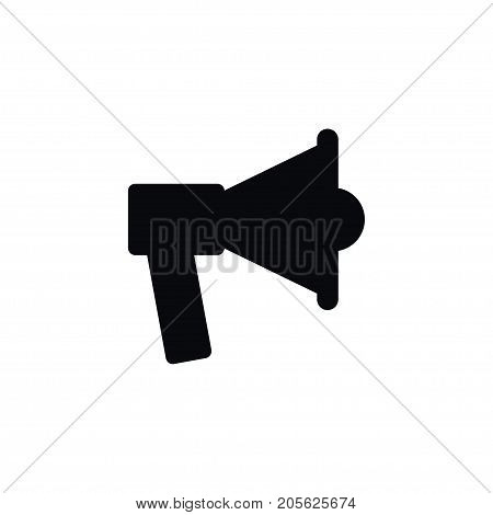 Speaker Vector Element Can Be Used For Speaker, Advertisement, Loudspeaker Design Concept.  Isolated Advertisement Icon.
