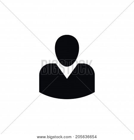Manager Vector Element Can Be Used For Politician, Boy, Manager Design Concept.  Isolated Boy Icon.