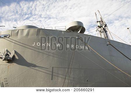 Uss John W Brown Liberty Ship