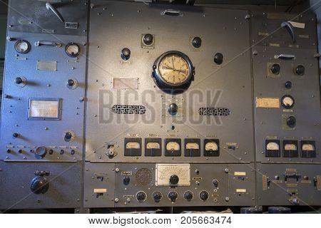 Radio Equipment In Liberty Ship
