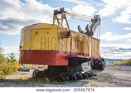 An Old Mining Excavator