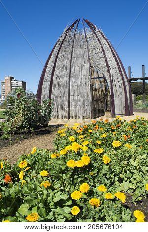 Hut In The Kitchen Garden, Adelaide Botanic Garden, South Australia