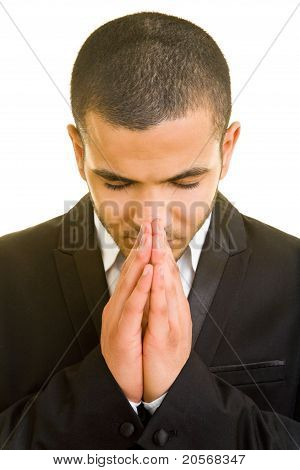 Business Man At A Prayer