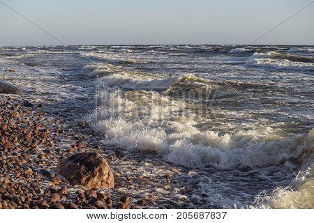 Sea Surf Pebbles