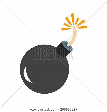Cannon, ball, exploding icon vector image. Can also be used for Pirate. Suitable for use on web apps, mobile apps and print media