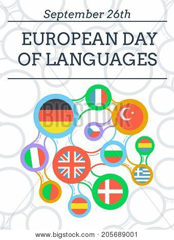 Greeting Card  European Day Of Languages