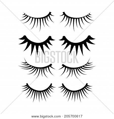 Two Eyes Eyelash Extensions Set