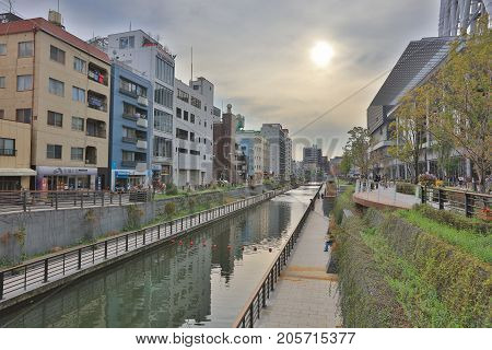 The River Beside The Sky Tree
