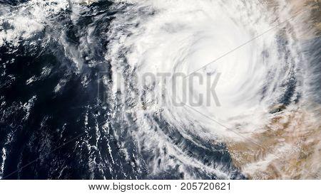Hurricane Harvey is heading towards Houston, Texas