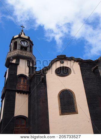 Church Nuestra Senora de la Concepcion in Oratava Tenerife
