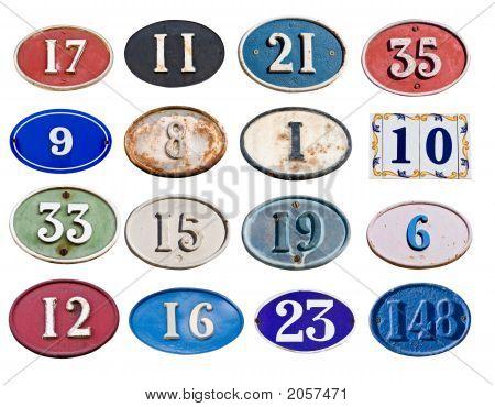 Many Address Plate