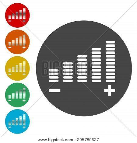 Volume Icon, Volume adjustment, simple vector icon