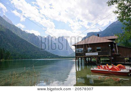 Lake Dobbiaco - Dolomites, Italy