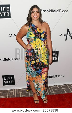 NEW YORK-SEPT 08: Actress Alessandra Garcia attends Daily Front Row's Fashion Media Awards at Four Seasons Hotel New York Downtown on September 8, 2017 in New York City.