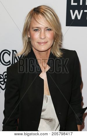 NEW YORK-SEPT 08: Actress Robin Wright attends Daily Front Row's Fashion Media Awards at Four Seasons Hotel New York Downtown on September 8, 2017 in New York City.