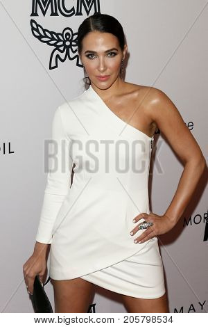 NEW YORK-SEPT 08: Jordan Duffy attends Daily Front Row's Fashion Media Awards at Four Seasons Hotel New York Downtown on September 8, 2017 in New York City.