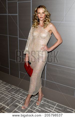 NEW YORK-SEPT 08: Model Anne V attends Daily Front Row's Fashion Media Awards at Four Seasons Hotel New York Downtown on September 8, 2017 in New York City.