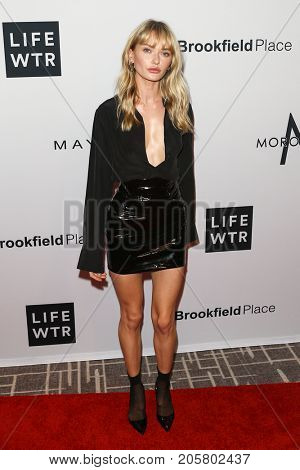 NEW YORK-SEPT 08: Annabella Barber attends Daily Front Row's Fashion Media Awards at Four Seasons Hotel New York Downtown on September 8, 2017 in New York City.