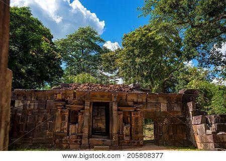 Hindu Shiva devalaya or shrine in Polonnaruwa, Sri Lanka