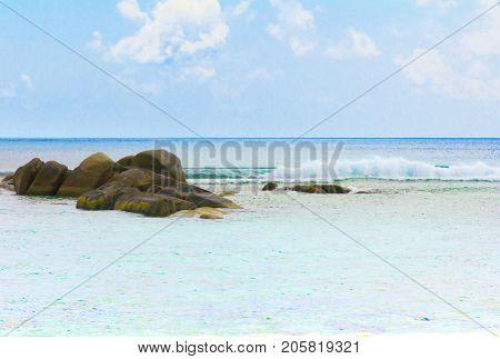 Ocean Rocks Beauty
