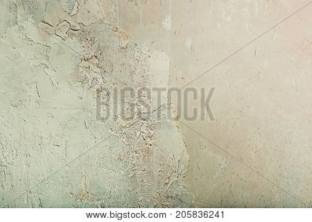 brown wall, plaster, painted background