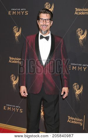 LOS ANGELES - SEP 9:  Lucky Yates at the 2017 Creative Emmy Awards at the Microsoft Theater on September 9, 2017 in Los Angeles, CA