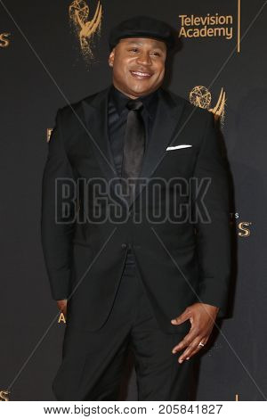 LOS ANGELES - SEP 9:  LL Cool J at the 2017 Creative Emmy Awards at the Microsoft Theater on September 9, 2017 in Los Angeles, CA