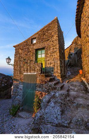 Village Monsanto - Portugal - architecture background