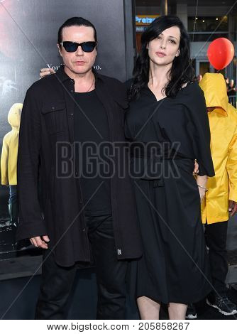 LOS ANGELES - SEP 05:  Ian Astbury and Aimee Nash arrives for the 'IT' World Premiere on September 5, 2017 in Hollywood, CA