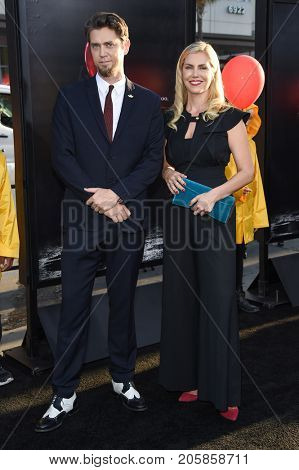 LOS ANGELES - SEP 05:  Andy Muschietti and Barbara Muschietti arrives for the 'IT' World Premiere on September 5, 2017 in Hollywood, CA