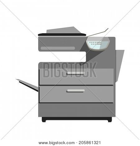 Flat  printer copy machine.
