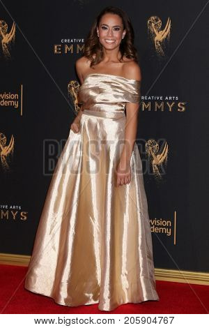 LOS ANGELES - SEP 10:  Alex Hudgens at the 2017 Creative Arts Emmy Awards - Arrivals at the Microsoft Theater on September 10, 2017 in Los Angeles, CA