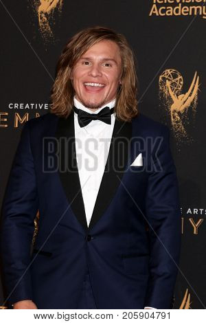 LOS ANGELES - SEP 10:  Tony Cavalero at the 2017 Creative Arts Emmy Awards - Arrivals at the Microsoft Theater on September 10, 2017 in Los Angeles, CA