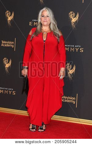 LOS ANGELES - SEP 10:  Marta Kauffman at the 2017 Creative Arts Emmy Awards - Arrivals at the Microsoft Theater on September 10, 2017 in Los Angeles, CA