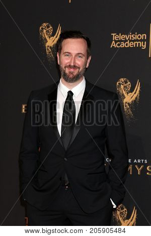 LOS ANGELES - SEP 10:  Jeremy Turner at the 2017 Creative Arts Emmy Awards - Arrivals at the Microsoft Theater on September 10, 2017 in Los Angeles, CA