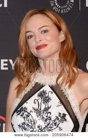 LOS ANGELES - SEP 10:  Heather Graham at the