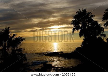 Laguna Beach at Near Sunset